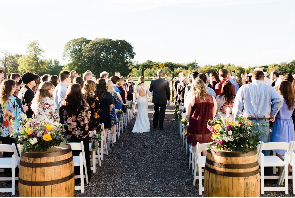 Premier DFW Barn Wedding Venue